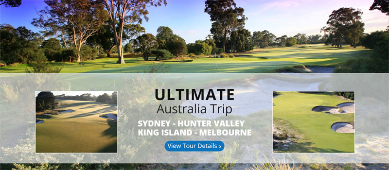 ultimate australia golf trip